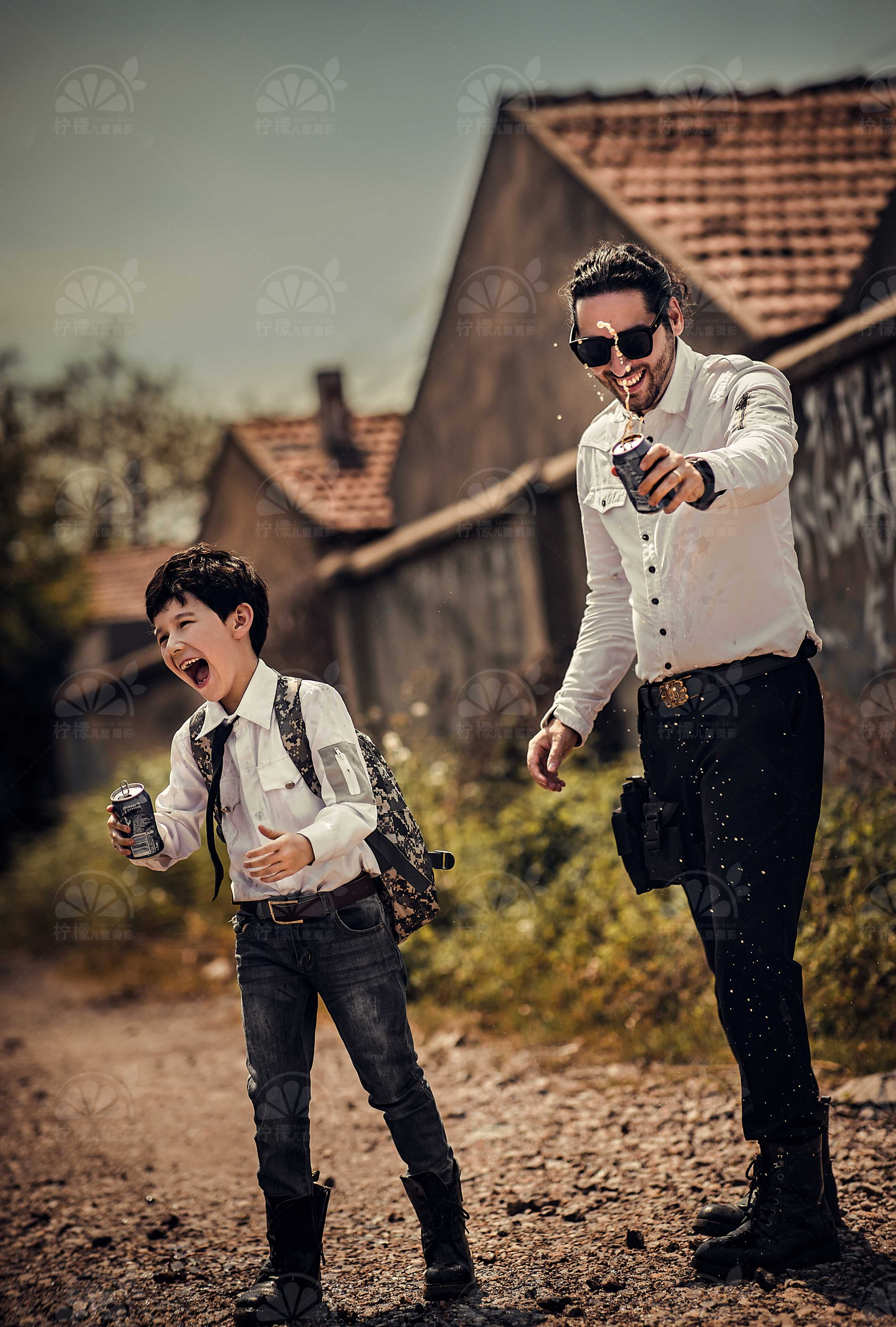【回帖就可領紅包】檸檬兒童攝影帶你一秒進入3D游戲世界!《和平精英》主題等你來拍!